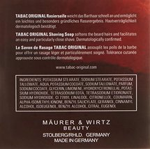 Tabac Original By Maurer & Wirtz For Men Shaving Soap Bowl Refill, 4.4-Ounces image 2