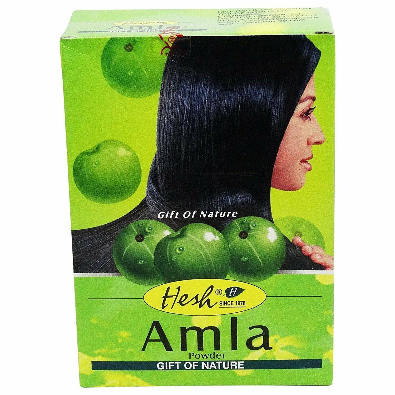2 BOXES! Hesh Amla Powder 100g Indian Gooseberry Emblic Myrobalan USA SELLER image 2