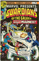 Marvel Presents 4 Marvel 1976 FN Guardians Of The Galaxy - $11.97