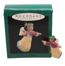 Heavenly Praises Miniature 1995 Hallmark Ornament QXM4037 by Hallmark Ke... - $8.00