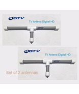 Antenna TV Digital HD  high power reception Outdoor / Indoor (Set of 2 a... - $39.99
