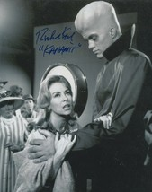Richard Kiel signed Twilight Zone Kanamit photo.To serve man. - $21.95
