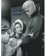 Richard Kiel signed Twilight Zone Kanamit photo.To serve man. - $21.95