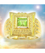 Emerald gold haunted ring 3 thumbtall