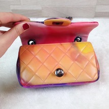 AUTHNTIC CHANEL LIMITED EDITION LAMBSKIN QUIILTED MINI FLOWER POWER FLAP BAG image 9