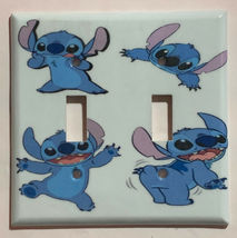 Stitch Light Switch GFI Rocker Outlet Toggle Wall Cover Plate Home decor image 4