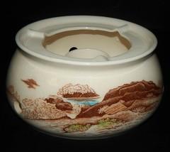 Nasco Sayonara Japan Tea Pot Warmer Oriental Village Scene Mid Century T... - $34.64