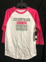 Nwt Adidas Bianco & Rosa Baseball¾ Maniche Baseball Camicia da Donna Casco - $6.96