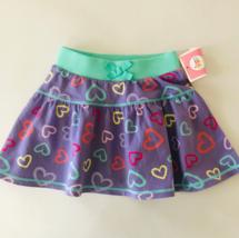 Baby Girl 12 Months Skirt Cotton Heart Print - $12.50