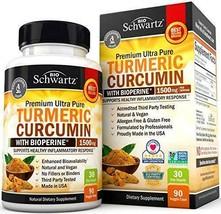 Turmeric Curcumin  1500mg. Premium Joint & Healthy Inflammatory Support - $24.61