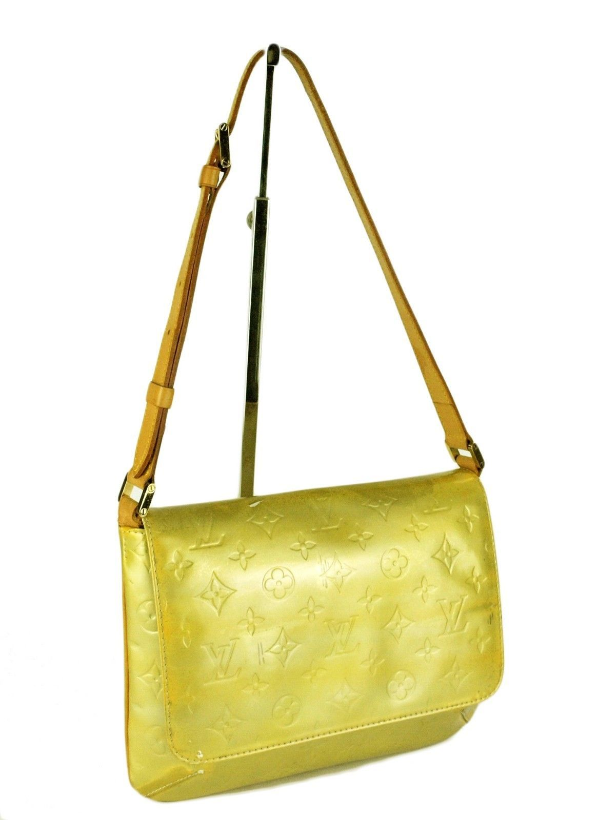 73412084a91d 100% Auth Louis Vuitton Yellow Vernis and 30 similar items