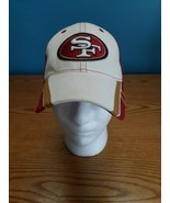San Francisco 49ers New Era Hat Unisex's Red White Fitted S/M - $15.79