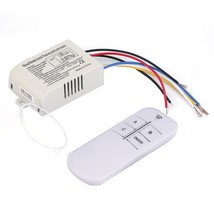 Digital Remote Control Switch Lights Lamps Wireless 433MHz AC 220V On Of... - €7,86 EUR