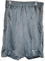 Nike Layup Men's Gray Basketball Athletic Swoosh Shorts Size M image 1