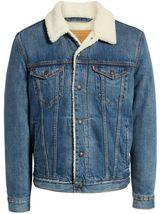 Levi's Strauss Men's Cotton Sherpa Lined Denim Jean Trucker Jacket 163650040 image 5