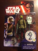 Star Wars The Force Awakens 3.75-Inch Figure Space Mission Resistance Tr... - $5.93