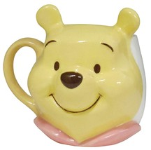Disney Winnie the Pooh Pooh's face mag cup cafe cup 180ml white  - $46.53