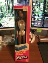 1983 Mattel Sun Gold Malibu African American Barbie Doll #7745 NIB - $44.95