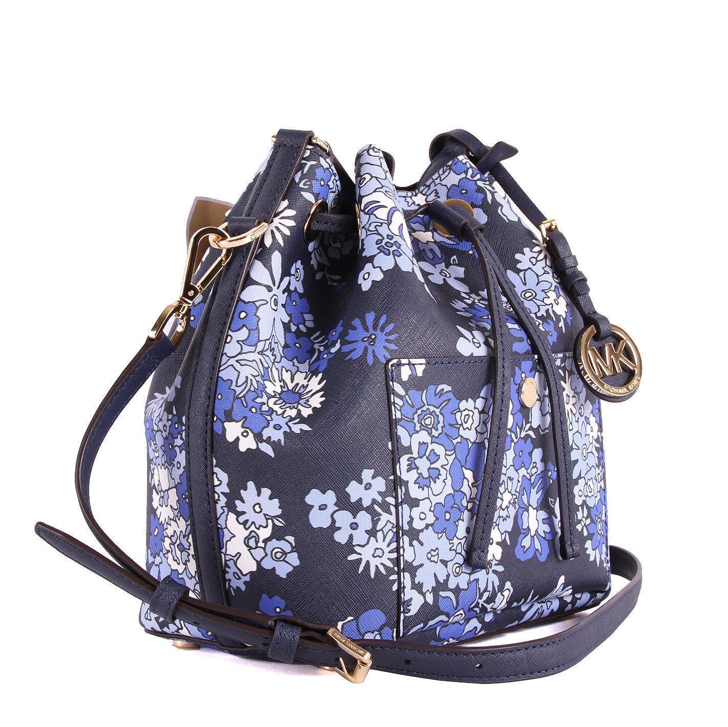 8aca27f4b329 Michael Kors Greenwich Medium Bucket Bag and 50 similar items