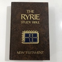 The Ryrie Study Bible by Charles C. Ryrie (1977, Hardcover) New Testament - $9.89