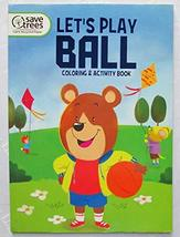 Let's Play Ball and Other Sports Coloring & Activity Book NEW - $2.75