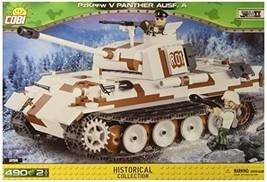 COBI Historical Collection PzKpfw V Panther AUSF. A Vehicle - $89.20