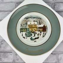 Avon Christmas Collectible Plate Country Christmas Enoch Wedgwood Englan... - $14.50