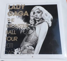LADY GAGA The Monster Ball Tour 2011 Calendar Mint Unopened Condition Co... - $18.95