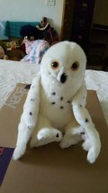"11"" NWT WILD REPUBLIC CUDDLEKINS PLUSH SNOWY OWL, SUPER SOFT, STUFFED AN... - $19.79"