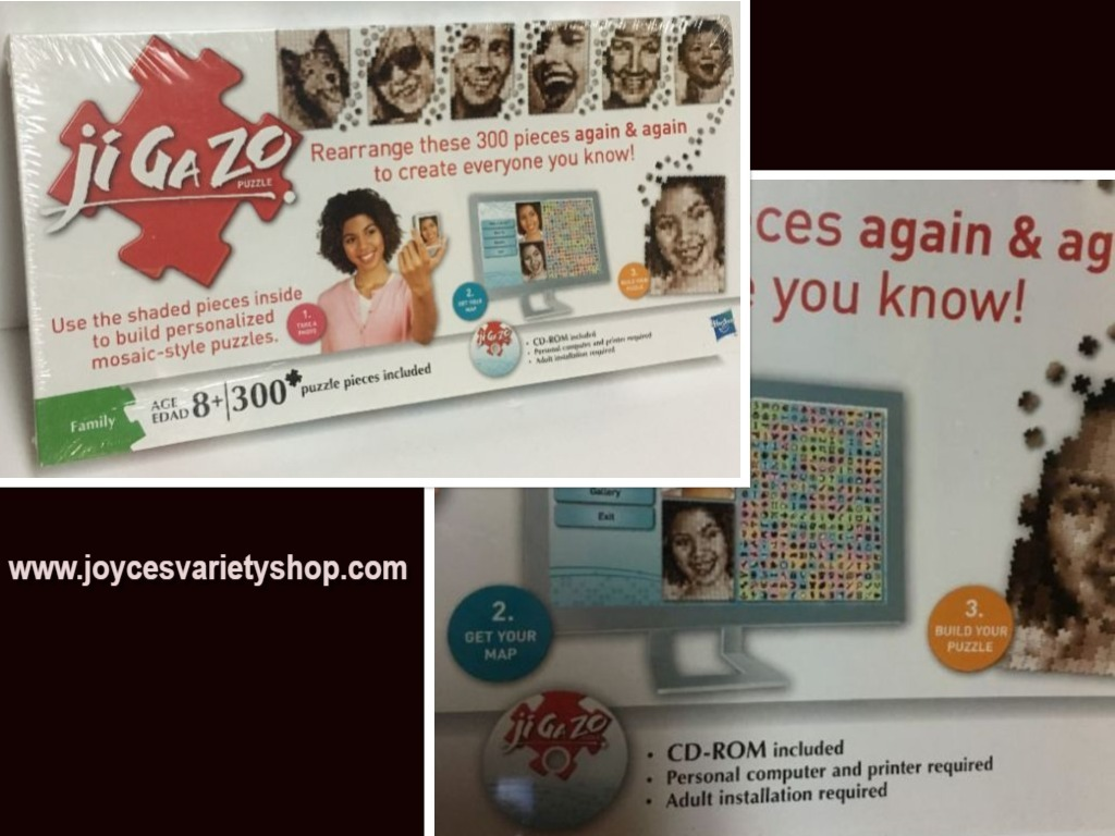 Jigazo puzzle web collage