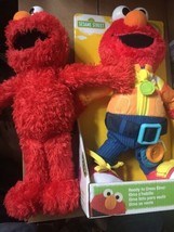 Lot of 2 Sesame Street Ready To Dress Elmo And Elmo #075351 - $40.00