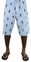 DGK Dirty Ghetto Kids Blue Weed Flavas Beach Swim Surf Board Shorts Spring Break