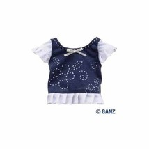 Webkinz Clothing Chalk Flower Top by Ganz - WE000297 - $7.91