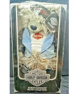 1997 RARE HARLEY DAVIDSON PLUSH COLLECTION~ LEATHER JACKET BEAR - $39.59
