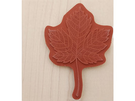 Stampin' Up! Magnificent Maple Wood Mounted Rubber Stamp #131868 image 2