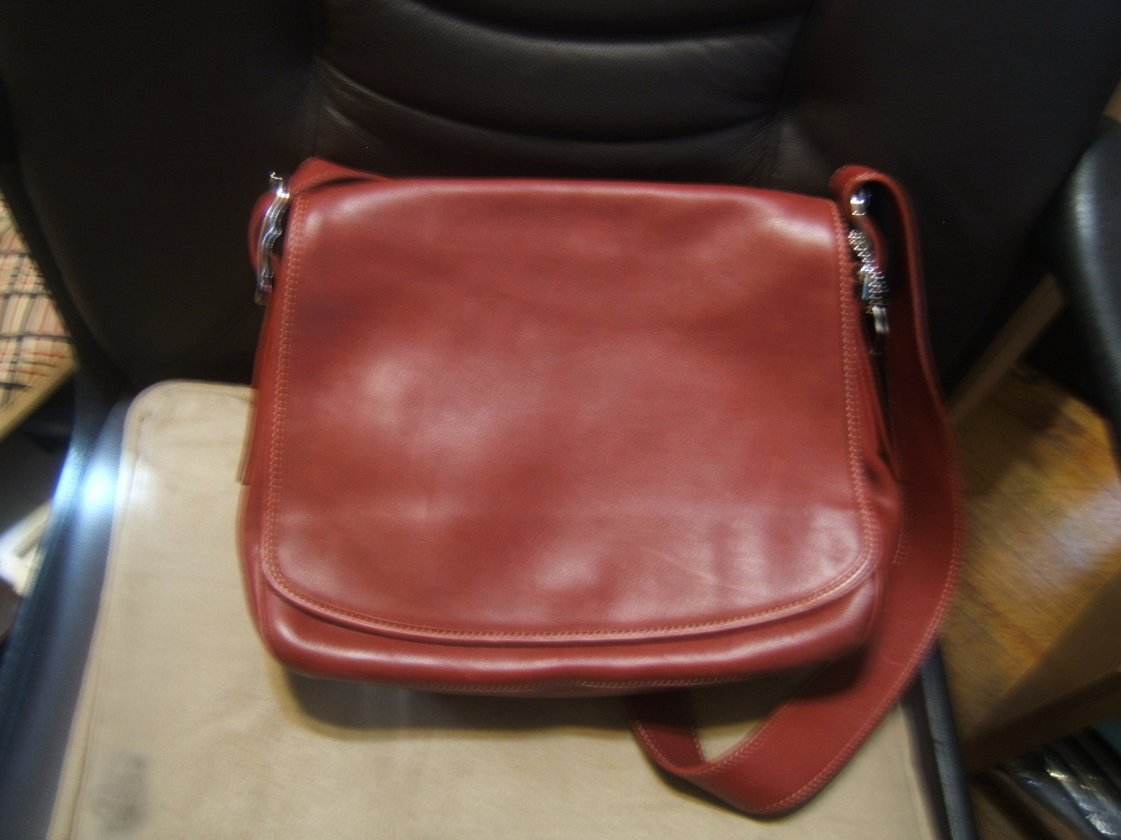 Authentic Vintage Coach Classic Saddle Bag And 50 Similar Items