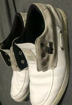 Lacoste Leather And Suede Dress/Boat Shoes Size 11 - $11.87
