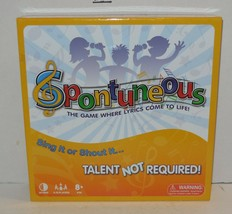 Spontuneous Family Party Board Game Where Lyrics Come to Life 100% Complete - $17.54