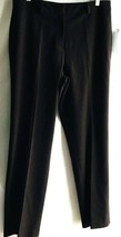 Jones New York Charente Dress Pants Bitter chocolate Size 10 Stretch New... - $11.38
