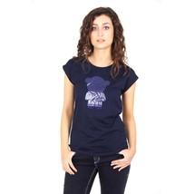 Blue 42 EUR - 6 US Emporio Armani ladies t-shirt short sleeve AGH76 CZ N5 - $80.45