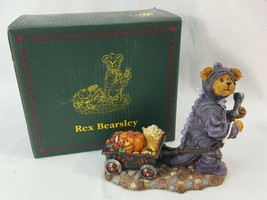 Boyds Bear Rex Bearsley Dinosaur Haulin A Night's Work Halloween #228431... - $22.95