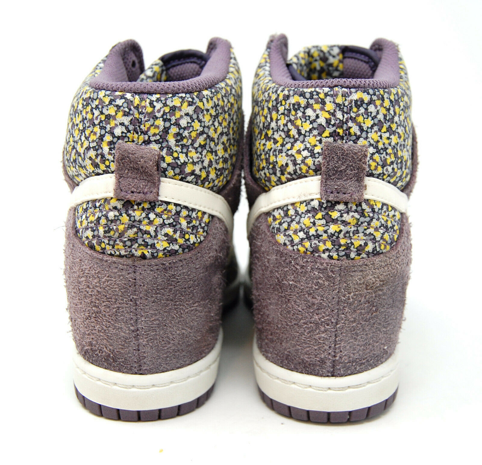 NIKE Dunk Sky Hi Liberty Purple hidden heel wedge sneaker 7.5