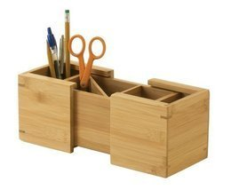 Lipper International 807 Bamboo Wood Expandable Pencil and Office Supply... - $453,12 MXN