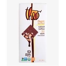 Theo Chocolate Salted Toffee (12x3 OZ) - $43.20