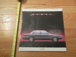 Toyota Camry 1988 Car auto Dealer showroom Sales Brochure - $8.99