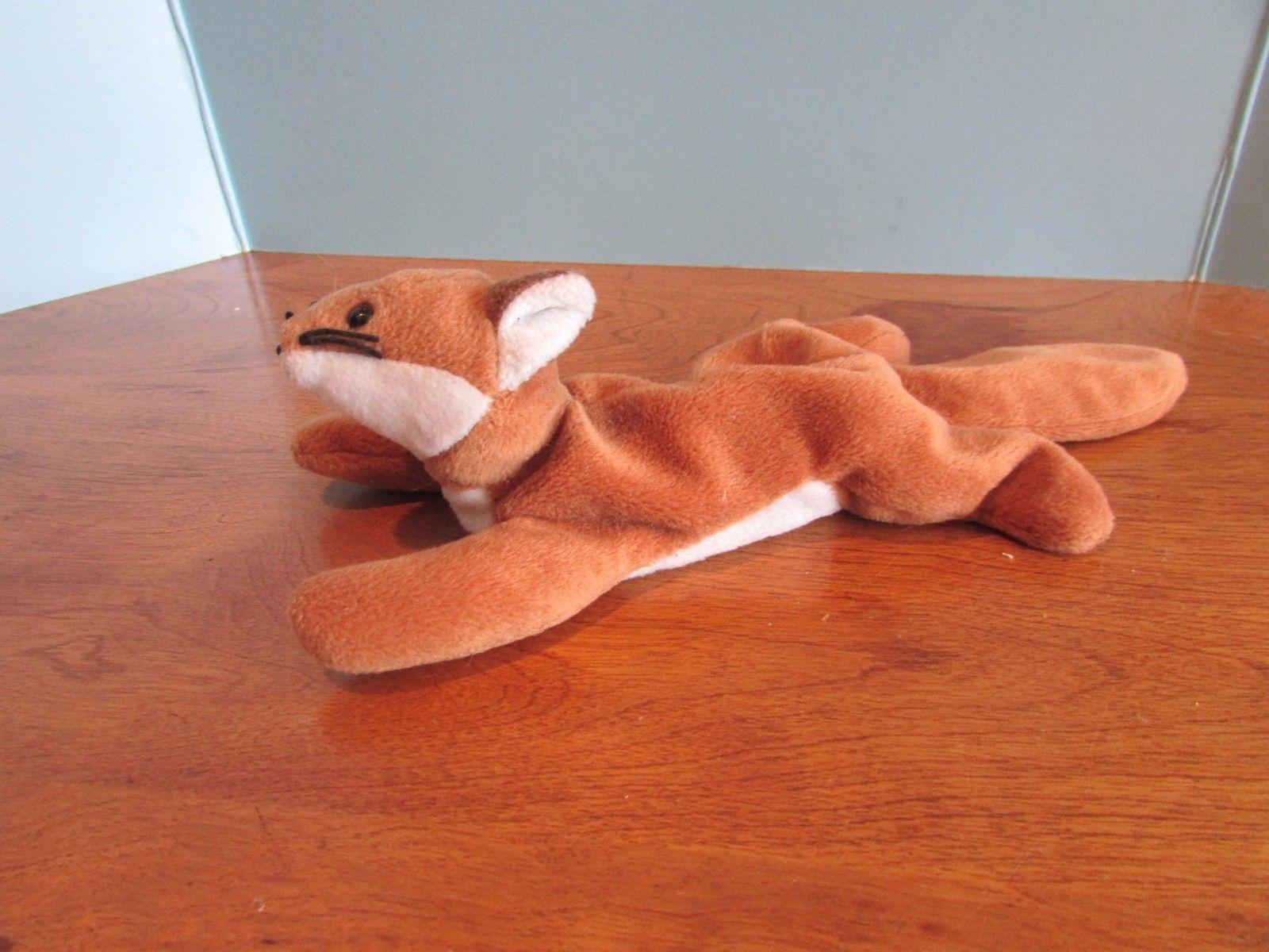 6839ba0783a TY Beanie Babies Baby plush FOX