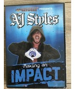 Wrestling Network DVD AJ Styles Making An Impact Pro Wrestling Crate Exc... - $4.94