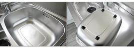 Wonang Stainless Steel Dishpan Basin Dish Washing Bowl Bucket Basket Tub image 2