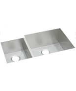 "Elkay EFU352010L Crosstown 2-Bowl 35"" Undermount Kitchen Sink in Polishe... - $490.08"