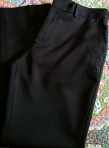 george & martha Brand ~ Men's Size 36 x 32 ~ Black in Color Dress Pants - $30.00